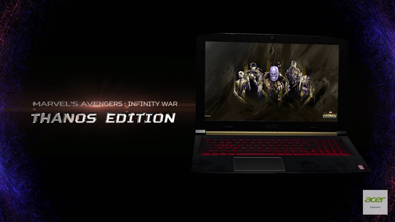 laptop infinity war