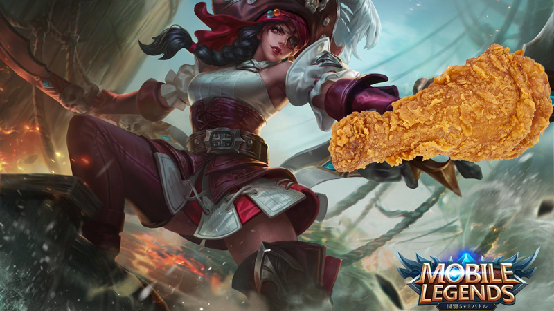 mobile legends dan kfc
