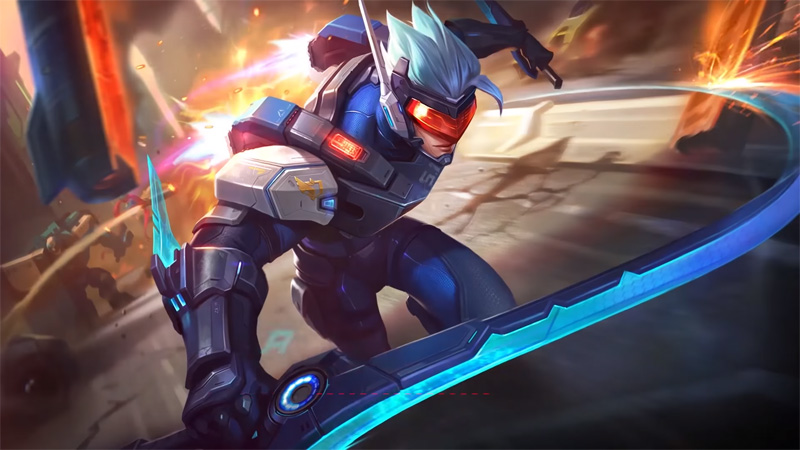 Review New Skin Saber Mobile Legends, Pemimpin S.A.B.E.R SQUAD!!!