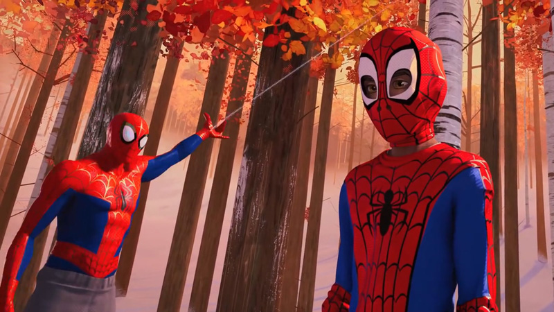 trailer Spider-Man Into The Spider-Verse