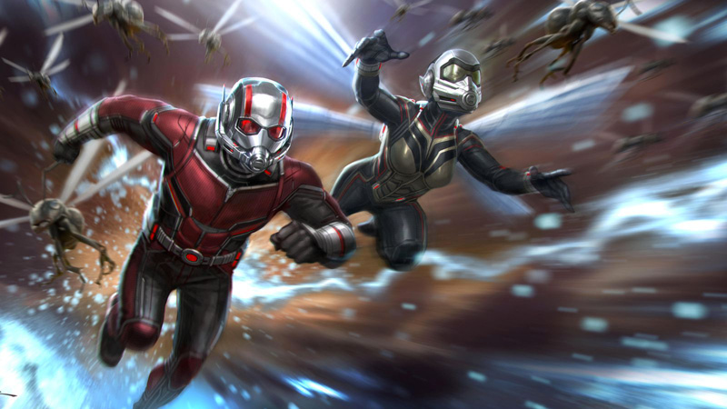 Penjelasan After Credit Ant-Man and The Wasp! Berhubungan dengan Avengers 4?