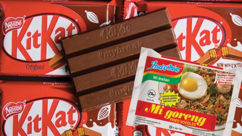 KitKat Menawarkan Rasa Makanan Indonesia! Ada Rasa Indomie Goreng!