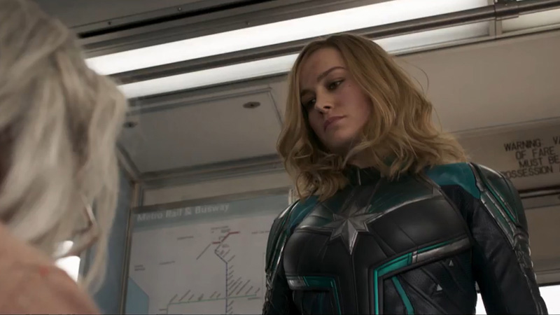 Sangar! Captain Marvel Pukul Nenek-Nenek di Trailer Perdananya!
