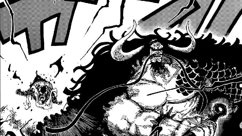 Review One Piece Chapter 923: Sekali Dipukul Kaido, Luffy KO!