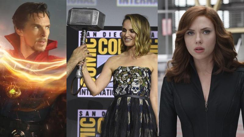 Resmi! Ini Daftar Film Marvel Phase 4 yang Diumumkan di San Diego Comic Con!