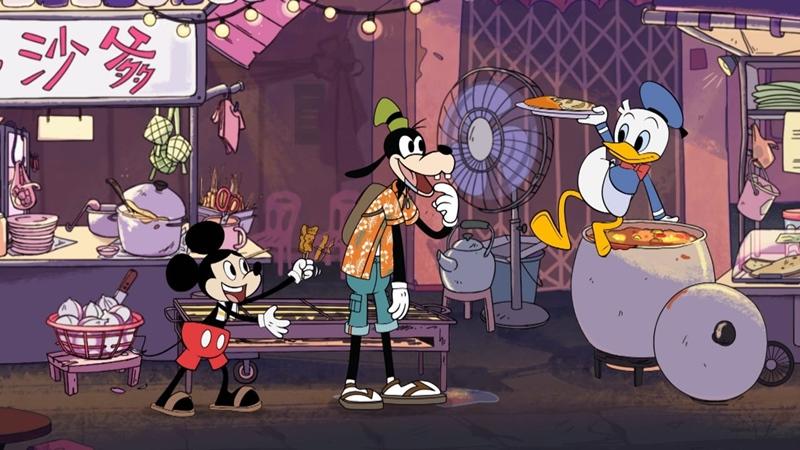 animasi disney mickey mouse indonesia