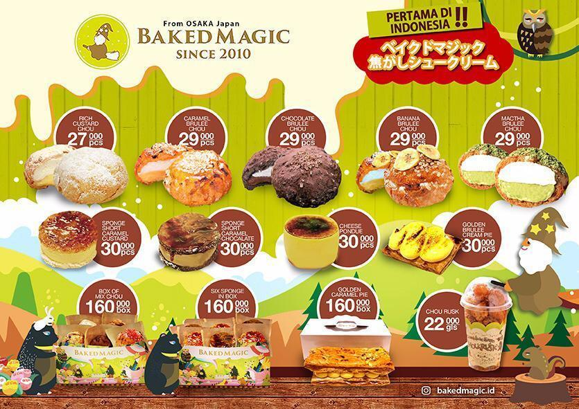choux baked magic