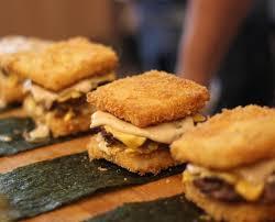 burger dan sushi