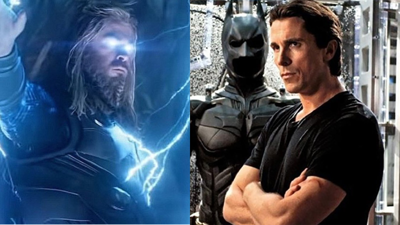 Christian Bale di Thor 4