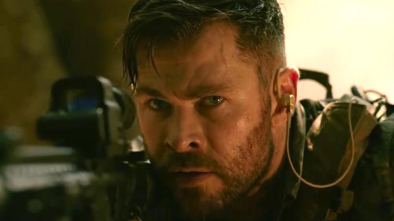 Trailer Extraction, Film Action Kolaborasi Chris Hemsworth dan Sutradara Avengers: Endgame!