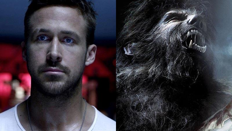 Ryan Gosling Siap Perankan Wolfman di Film Monster Universal!