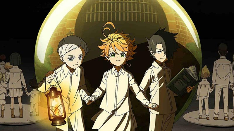 Amazon akan Membuat Serial The Promised Neverland Live-Action!