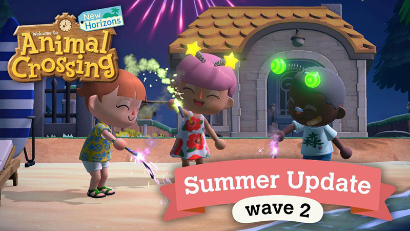 Animal Crossing: New Horizons Mendapatkan Summer Update Wave 2!