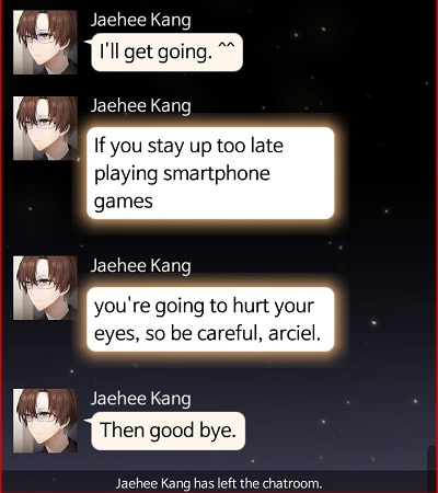 Jaehee's quote