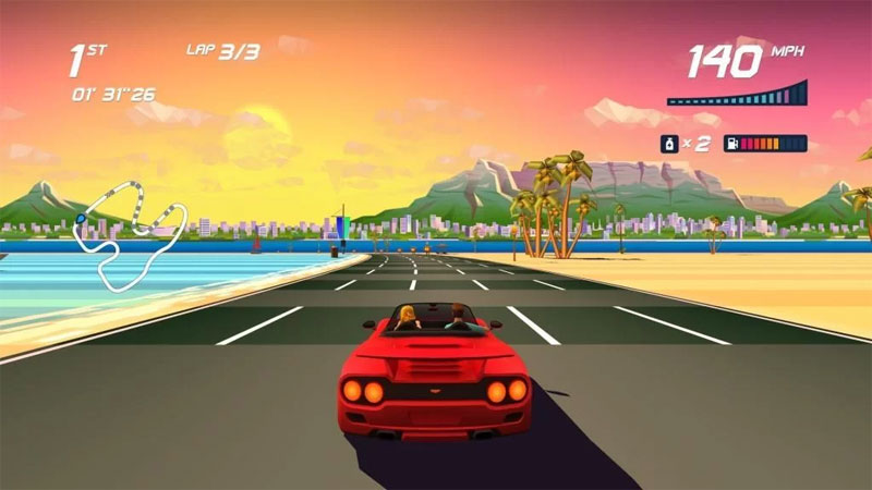 Review Horizon Chase Turbo Deluxe Edition: Game Balapan yang Klasik!