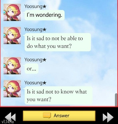 Yoosung's quote