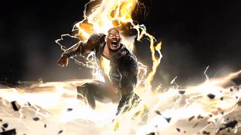 black adam teaser