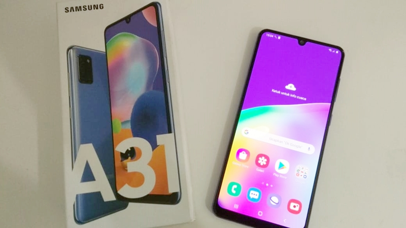 Review Samsung Galaxy A31: 48MP Quad Camera Dengan Baterai 5.000mAh
