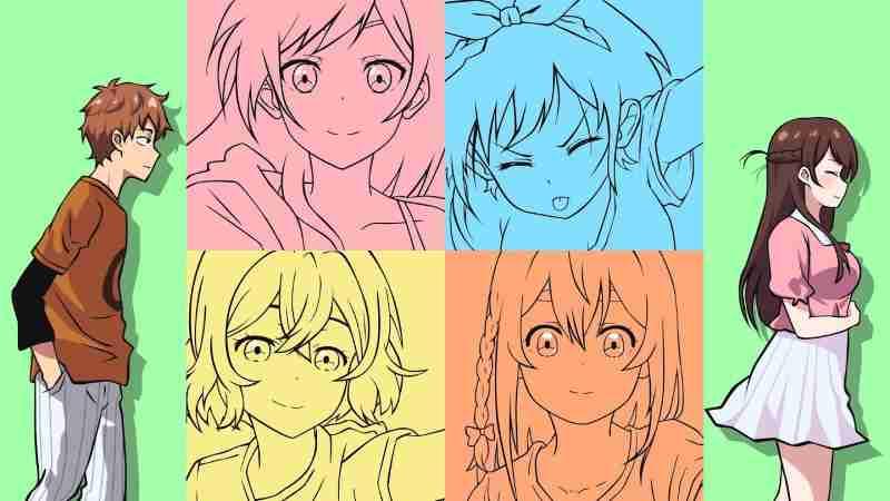 Kanojo Okarishimasu: Mengulik Pesona 4 Pacar Rentalan di Anime Komedi Romantis!