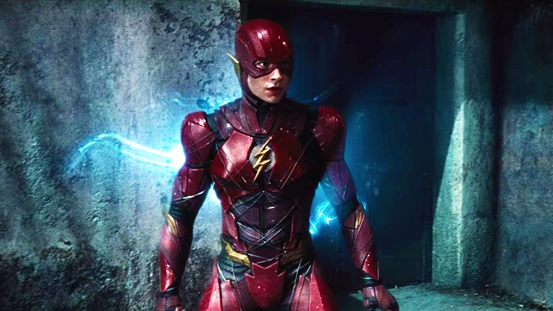 Naskah Film The Flash Garapan Ezra Miller Ternyata Mirip Back to the Future!