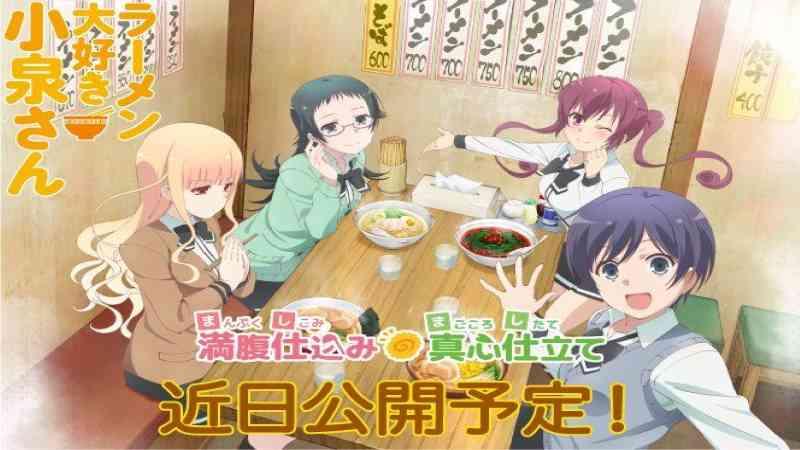 Cerita Anime Ramen Daisuki Koizumi-san, Bikin Terngiang Ingin Mie!