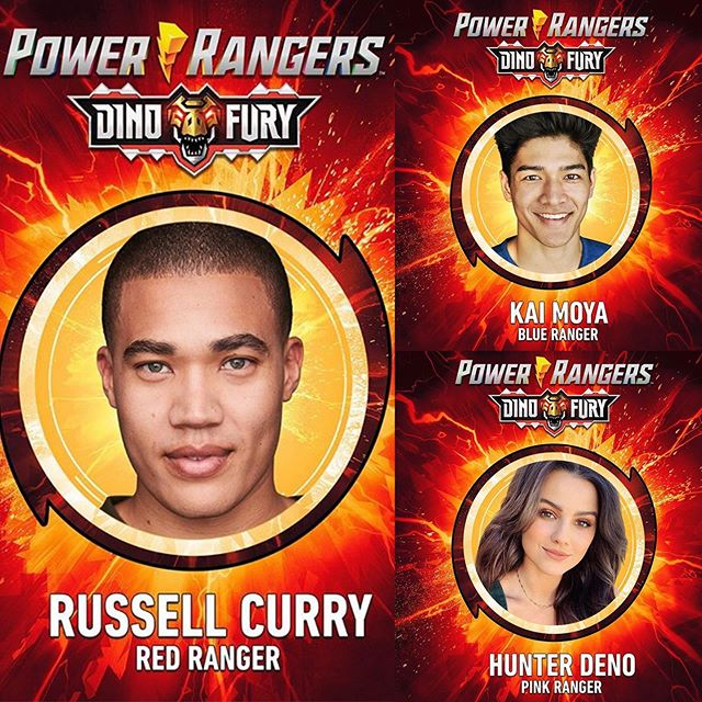Power Rangers Dino Fury Cast