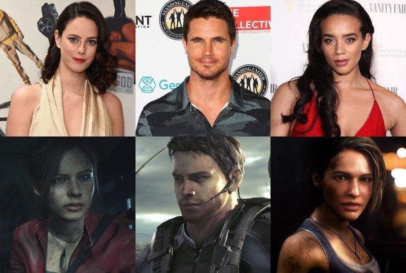Cast Resident Evil Reboot