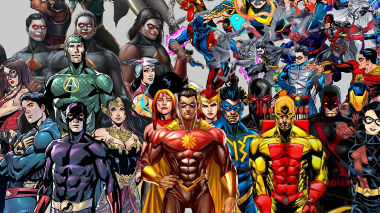 6 Label Komik Superhero Indonesia Yang Harus Kalian Tahu!