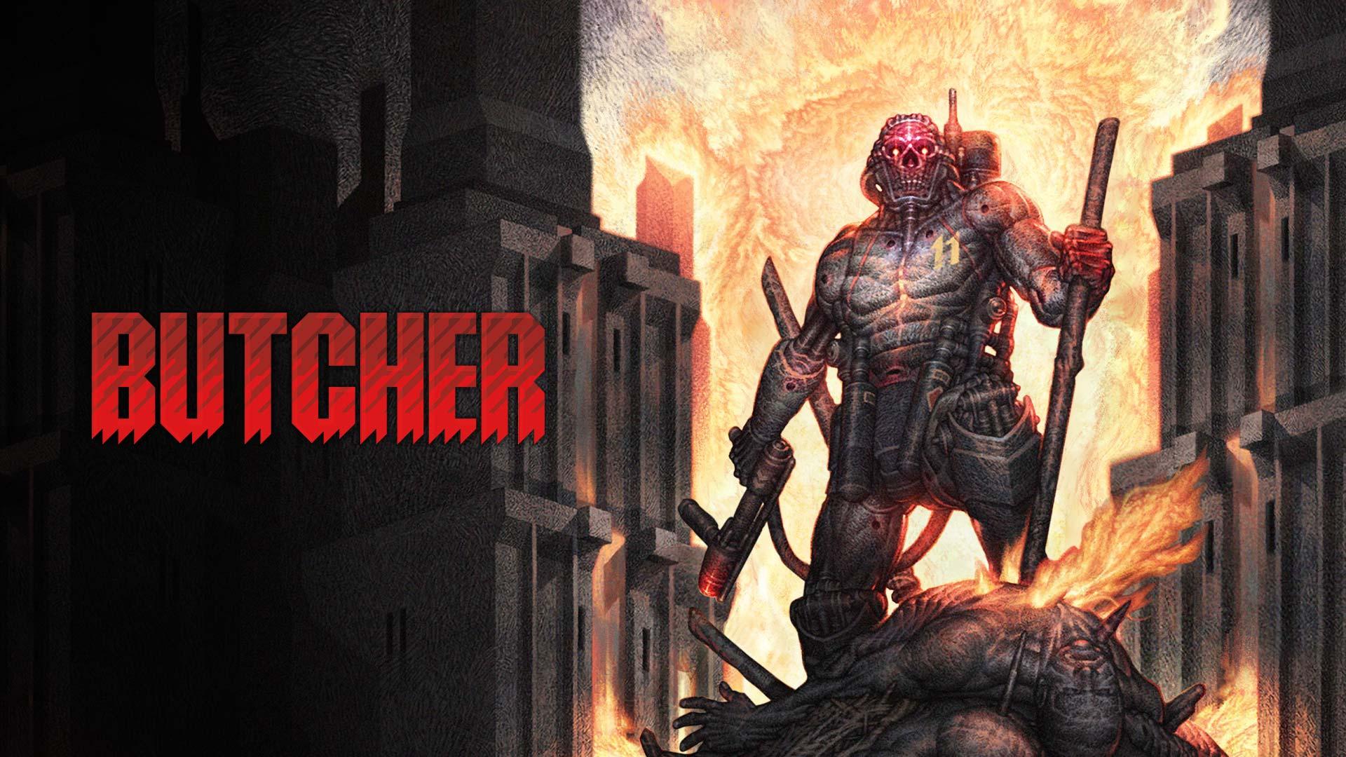 Butcher, Game 2D Shooter yang Sadis Resmi Dirilis untuk PS4!