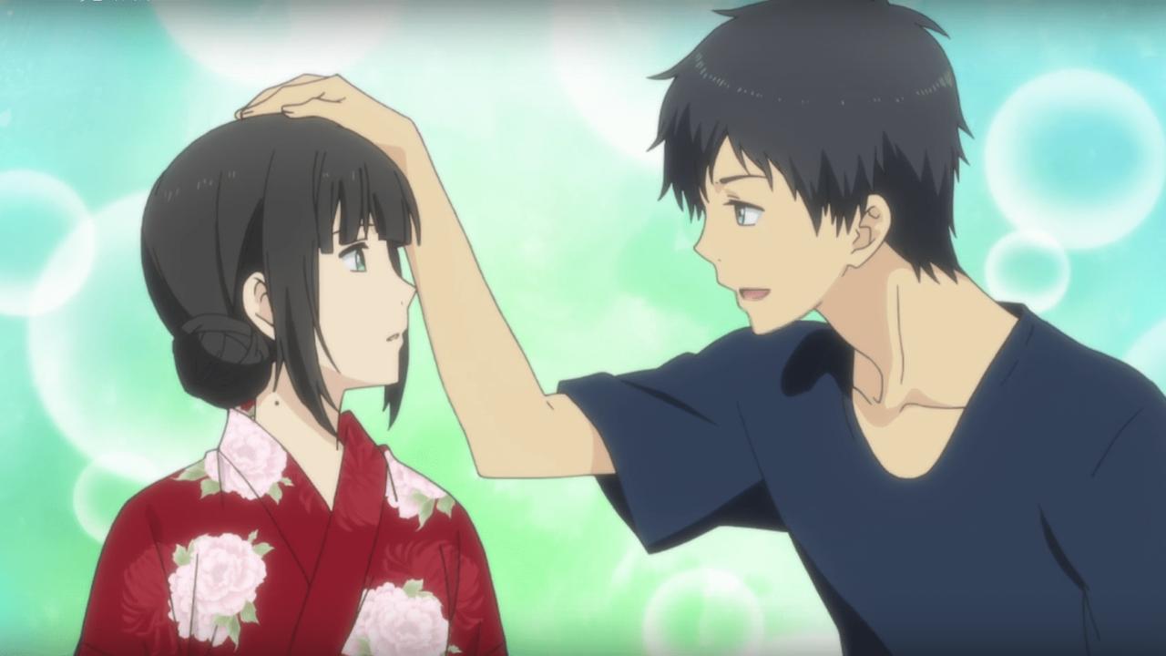 Cerita Anime Underrated Relife! : Scene Arata Dan Kekasih