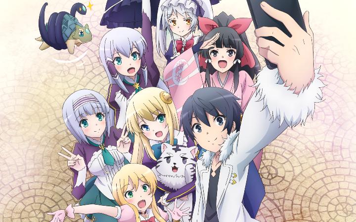 Cerita Anime Isekai Smartphone: Anime Harem, Fantasy Terhalu?