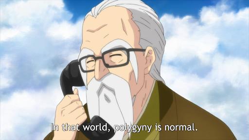 Cerita Anime Isekai Wa Smartphone To Tomoni : Dewa