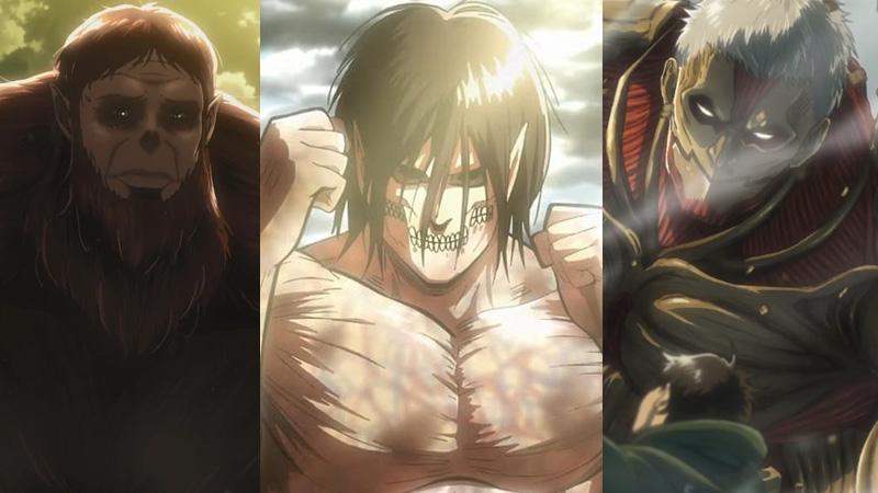 Kekuatan 9 Titan di Attack on Titan Serta Penjelasannya!
