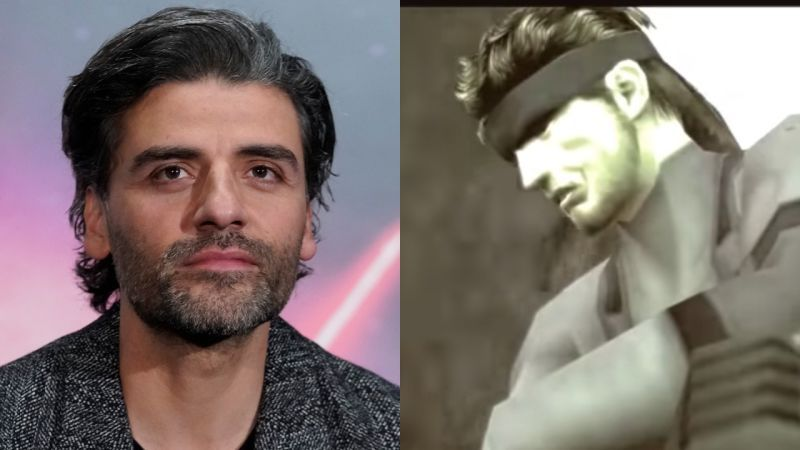 Oscar Isaac sebagai Solid Snake