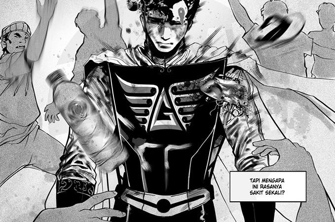 Karakter Komik Godam: Powerful Tapi Juga Terlalu Manusiawi