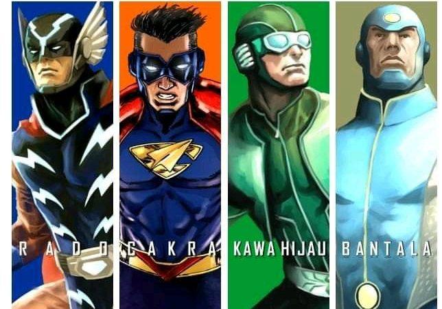 Komik Cakrapolis Universe, Rumah Baru Adisatria Lawas Indonesia!