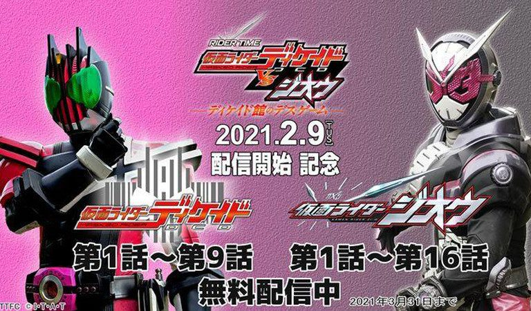 Kamen Rider Decade dan Zi-O akan Saling Berjibaku dalam Spinoff Baru