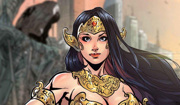 Karakter Komik Sri Asih: Pertama, Terkuat, dan Tercantik!