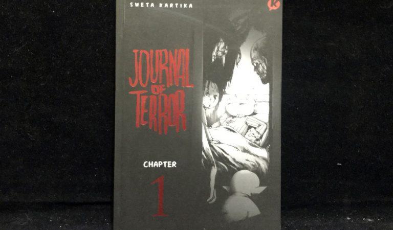 Review Komik Journal of terror! Horror asik yang sulit didapatkan