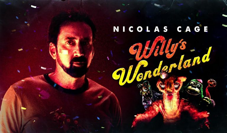Willy's Wonderland, Film yang Memparodikan Game Five Nights at Freddy's