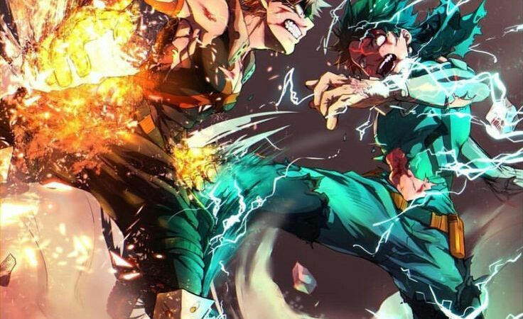 5 Rivalitas Paling Sengit di Anime Shounen Generasi Baru, Seru Banget!