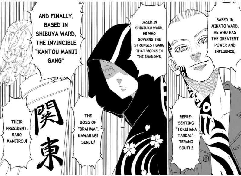 tokyo revengers kawaragi senju